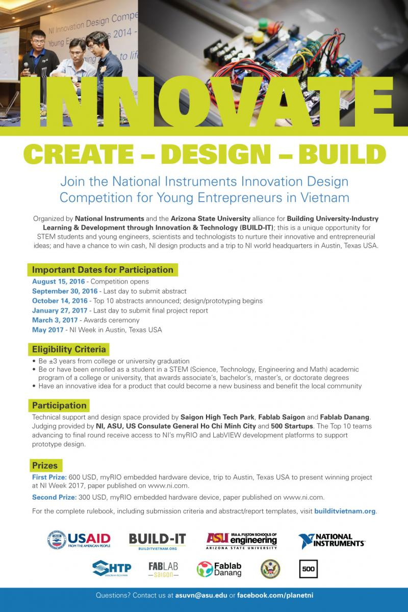 Poster design competition 2017 - Download The Poster In English